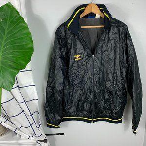 Umbro Vintage Lightweight Football Jacket Black